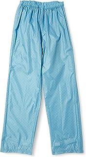 Maruju Corporation 防水骑行雨裤 男女通用 男士 女士 雨衣 自行车 雨披 上班 上学 06003073 6003073, 蓝色, L