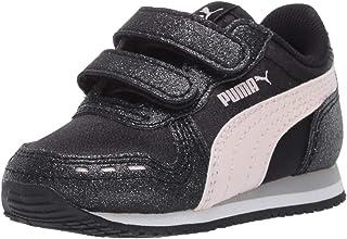PUMA 彪马 女童 Girls' Cabana Racer Glitz Velcro 运动鞋