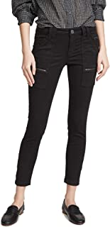 Joie Women's Park Skinny Zipper-Accented Jean