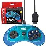 Retro-Bit 官方 Sega Genesis 控制器 6 颗纽扣拱门垫 适用于 Sega Genesis - 原装…