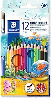 Staedtler 施德楼 12色水溶性彩色铅笔144 10NC12