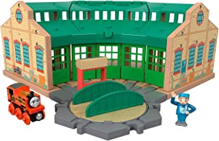 Fisher-Price Thomas & Friends 木质,Tidmouth Sheds,多色