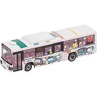 公交收藏 巴士收藏 西铁巴士北九州 凯蒂猫巴士 立体模型 (厂家初回限定生产版)