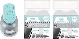 We R Memory Keepers Tab Punch,共 30 张贴纸 适合圣经纪事、素描簿、剪贴簿、计划员插入物:1 张带贴纸标签的 Tab 键压花机和附加 2 张粘合贴纸