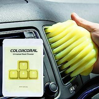 ColorCoral 键盘清洁器通用防尘清洁套件汽车清洁小工具 电子灰尘清洁粘液油腻细节果冻除尘器(1 件装)