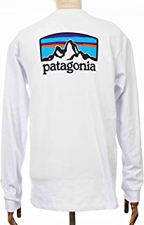 Patagonia 男士 M's L/S Fitz Roy Horizons Responsibili T 恤
