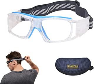 SooGree 运动眼镜 男女篮球足球运动护目镜 防雾防震 耐磨眼镜