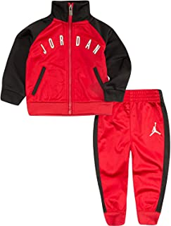Jordan Boy`s Tricot 夹克运动服和裤子 2 件套