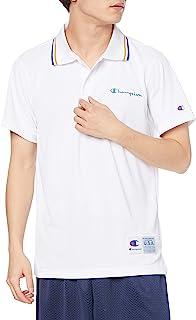 Champion 短袖Polo衫 *防臭 吸水扩散 高透气 减轻粘性 Script Logo 篮球 CAGERS C3-TB356 男士