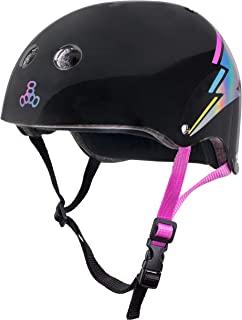 Triple Eight 认证防汗头盔,适用于滑板、BMX 和滑轮