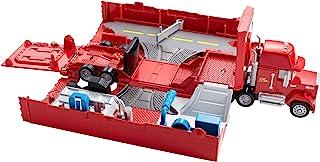 Mattel Disney 美泰迪士尼汽车 FTT93 运输车玩具套装 Mack