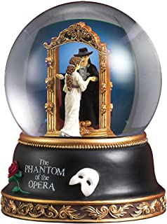 Phantom and Christine Mirror Scene Water Globe 来自 San Francisco Music Box Company