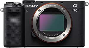 Sony 索尼 Alpha 7C 全框无反光相机 - 黑色 (ILCE7C/B)