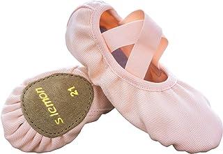 s.lemon 弹性帆布芭蕾舞鞋