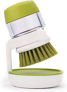 Joseph Joseph 清洗刷 带皂液分配器和存储支架-绿色