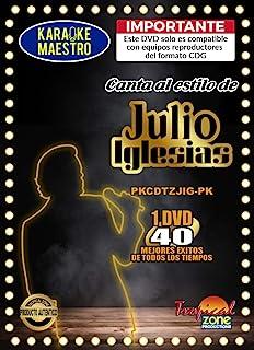 卡拉 OK Julio Iglesias DVD 40 首*好的歌曲