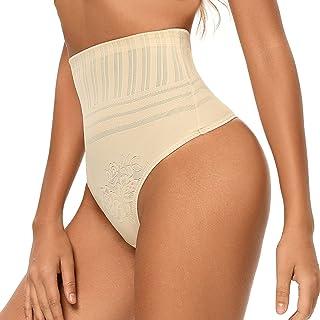 Thong Shapewear 收腹内裤高腰丁字裤塑身衣,适合女性腰部收腰塑身内衣