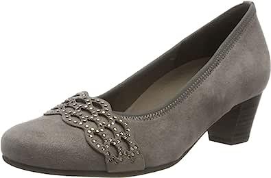 Gabor 女式舒适基本包头高跟鞋