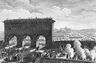 The French Revolution Nevent Of 1790 法国线雕由 Jean-Louis Prieur 海报印刷品(45.72 x 60.96 厘米)