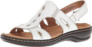 Clarks 女士 Leisa Lakelyn 平底凉鞋