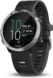 Garmin 010-01863-00 Forerunner645 GPS运动手表,具有非接触式付款功能和基于手腕的心率,黑色,1.2英寸(约3.05厘米)