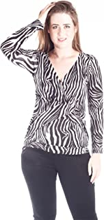 IMAHOT 女式冬季哺乳衬衫长袖黑白*喂养孕妇上衣休闲装