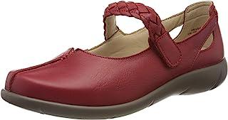 Hotter 女式超宽玛丽珍鞋