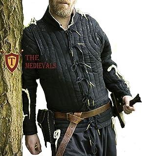 The Medievals Gambeson 加厚外套,Aketon 夹克盔甲,棉质面料连衣裙 SCA