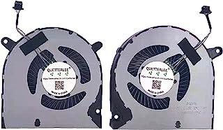 QUETTERLEE 替换新款 笔记本电脑 CPU GPU 散热风扇 适用于 DELL 2019 G3 3590 G3-3590 G3-3500 G5 15 5500 G5 SE 5505 G3 15 3500 系列 04NYWG 0160GM...