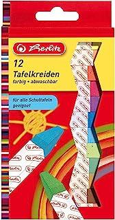 Herlitz 粉笔,12支/悬挂包,颜色分类 12 Stück farbig