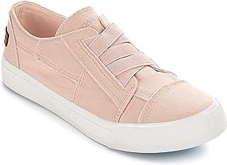 JENN ARDOR 女式时尚运动鞋低帮帆布步行舒适网球鞋