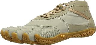 Vibram 女士 V-Trek 黑色/绿色越野跑鞋
