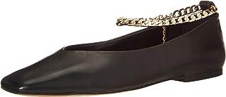 Vince Camuto 女士 Latenla 脚链芭蕾平底鞋