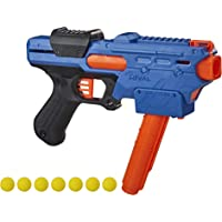 NERF Rival Finisher XX-700 玩具枪 -- 快装弹匣,弹簧行动,包括 7 个官方 Rival 轮…