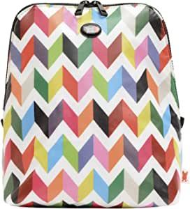 French Bull - Portable Slim Lunch Bag - Insulated Zip Cooler Bag - Kat Ziggy White Slim