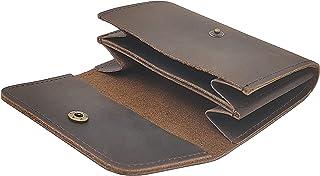 女式和男式卡包钱包真皮牛皮多卡收纳包信用卡包