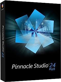 Pinnacle Studio 24 Plus | 强大的视频编辑和屏幕录音软件 [PC 光盘]|Plus |1 个设备|永久|PC|光盘