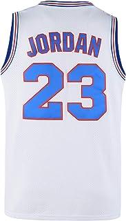 Lduk CL 青少年篮球运动衫 Moive #23 太空干扰衫儿童黑色/白色/蓝色