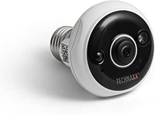 Technaxx 4583 Easy FullHD 灯头 E27 TX-58 监控摄像头 白色