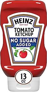 Heinz 亨氏 番茄酱,不含糖,13盎司(约368g)6瓶装