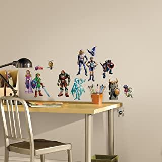 RoomMates RMK2780SCS Zelda Ocarina of Time 3D 即剥即贴墙贴