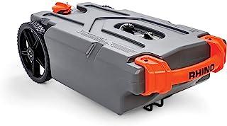 Camco Rhino 重型 21 加仑(约 53.5 升)便携式垃圾软管和配件 - 耐用防漏无异味 RV 手提箱 (39002)