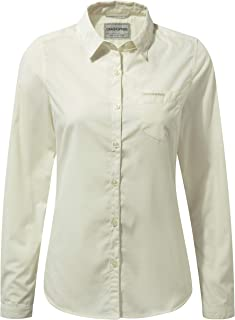 Craghoppers 女式 Kiwi 长袖衬衫