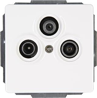 Kopp 924829088 威尼斯天线插座 电视 / RF/SAT