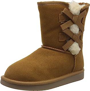 KOOLABURRA 来自 UGG Kids' VICTORIA 短款时尚靴子