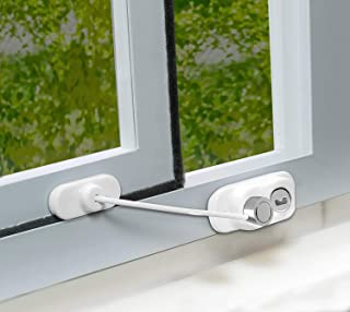 Dreambaby F926 Breezz-Safe 滑动窗门锁,棕色