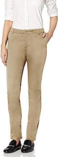 Classroom Uniforms 青少年弹力紧身长裤 卡其色 7-8