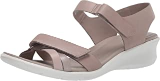 ECCO 爱步 Felicia 女式踝带坡跟凉鞋