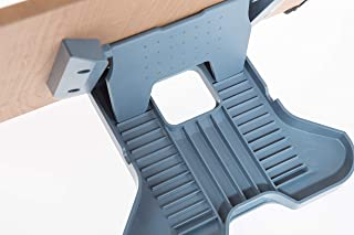 Litem 书架 – 方便、简单、坚固 13 个可调节角度、防滑、可折叠、手工厚书架(书架、食谱、平板电脑、笔记本支架)。 (16 x 11)