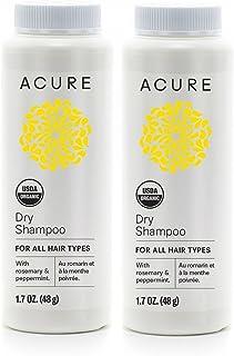 Acure Organics 摩洛哥坚果干*和 CoQ10 干洗发水粉,2 件装